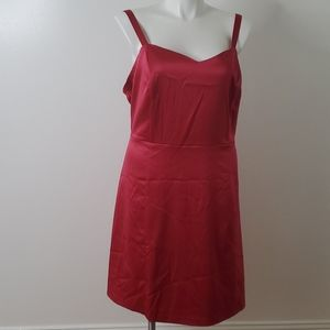 Lane Bryant pink dress